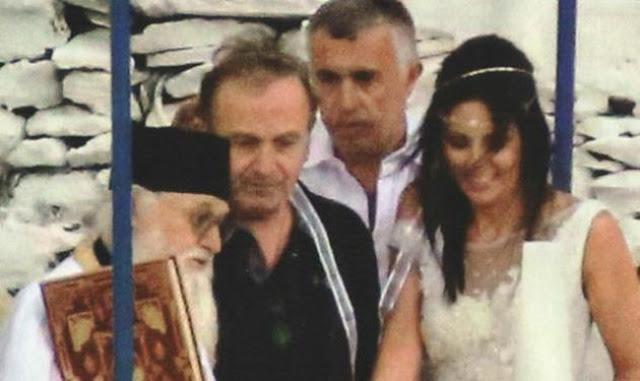 Σταμάτης Γονίδης: Δείτε τις πρώτες φωτογραφίες από το μυστικό του γάμο