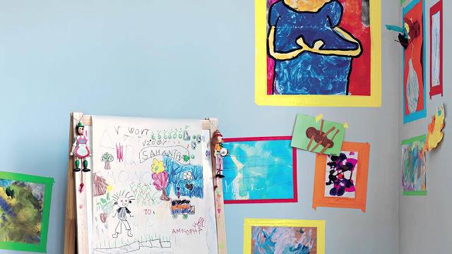 Δείτε στο video τρεις φανταστικές ιδέες για τις ζωγραφιές των παιδιών