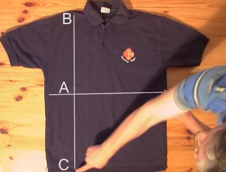 Πως να διπλώσεις μπλούζες και πουκάμισα  σε 2 δευτερόλεπτα