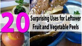 20 εκπληκτικές χρήσεις για τις φλούδες φρούτων και λαχανικών