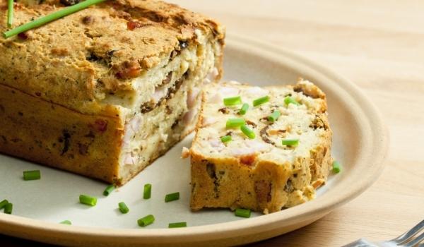 Αλμυρο κέικ για παιδια με λαχανικα!