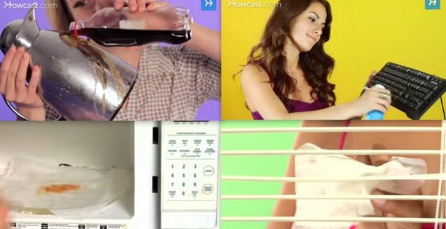 10 απίστευτα tips για εσας που βαριέστε να καθαρίζετε!!!