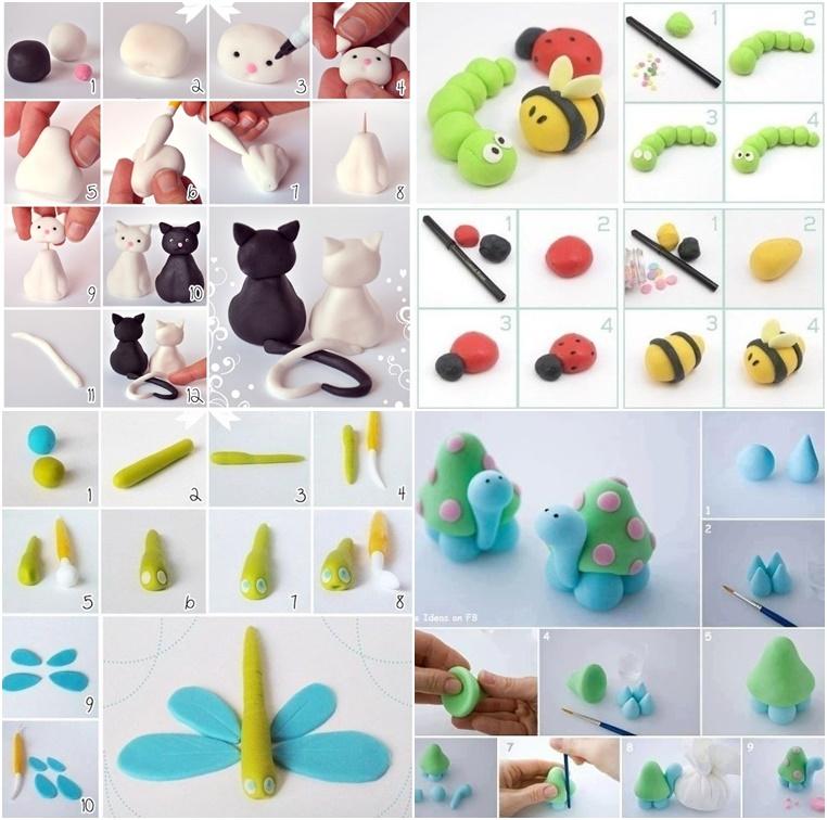 DIY Clay Animals