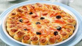 Τετοια pizza den εχετε ξαναφαει!Συνταγη βημα βημα!