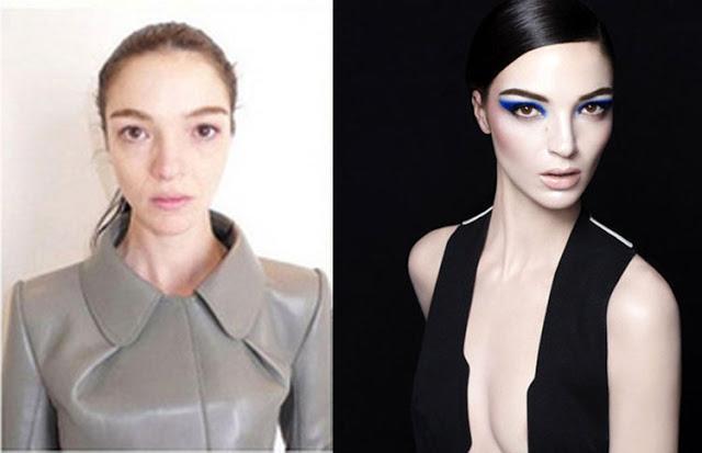 15 μοντέλα της Victoria Secret χωρίς μακιγιάζ (photo)