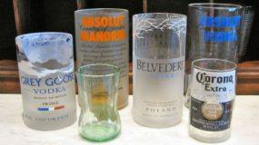 Εχέτε αχρήστα μπουκάλια; Φτιαξτε υπέροχα ποτήρια σε λίγα μόνο λεπτα!