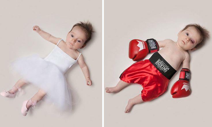 Φανταστικές φωτογραφίες ενός μωρού με μελλοντικά επαγγέλματα!