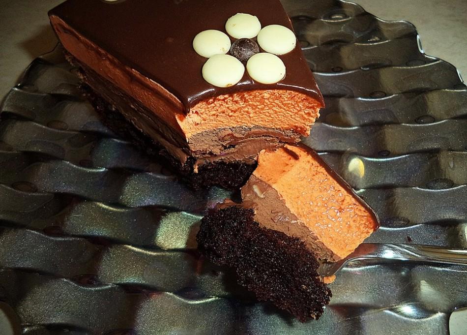 Συνταγή για τούρτα σοκολάτα πορτοκάλι