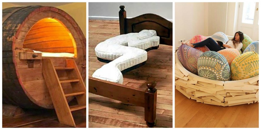 11 πραγματικά περίεργα κρεβάτια και ένας ελληνικός καναπές πατέντα!