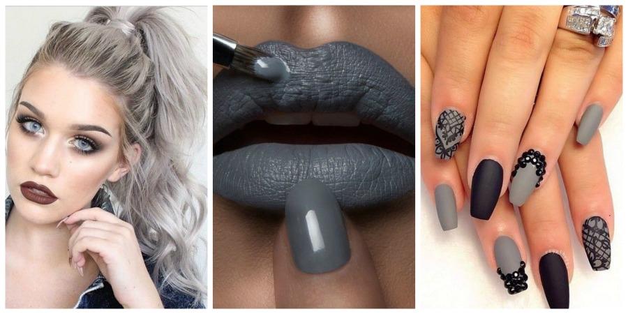Grey  η τάση στην μόδα που συνεχίζεται: Oλα τα tips για μαλλιά,νύχια και μακιγιάζ