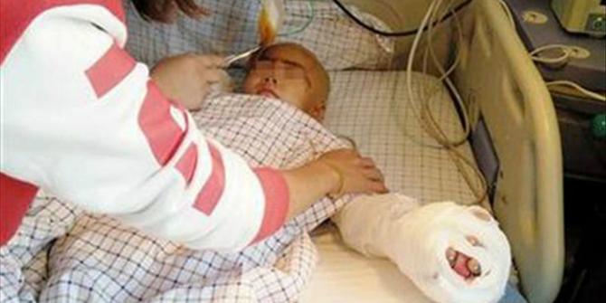 ΕΙΝΑΙ για ΚΡΕΜΑΣΜΑ: ΕΚΟΨΕ με ΨΑΛΙΔΙ το πέος και τα δάχτυλα 6χρονου αγοριού (φωτο)