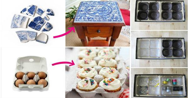 28 υπέροχες ιδέες ανακύκλωσης για άχρηστα αντικείμενα.