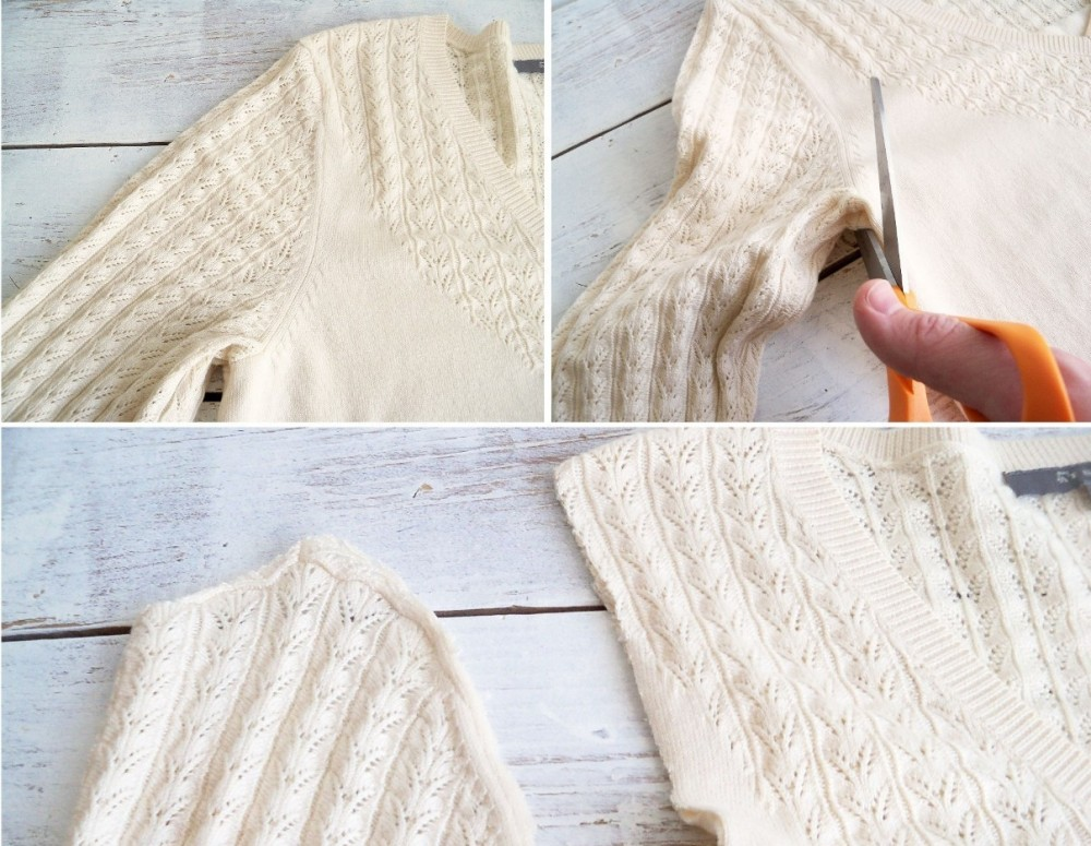 Τι μπορείς να κάνεις με ένα παλιό πουλόβερ;θαύματα!