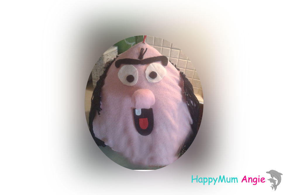 Κατασκευή πινιάτας με μπαλόνι - Δρακουμέλ