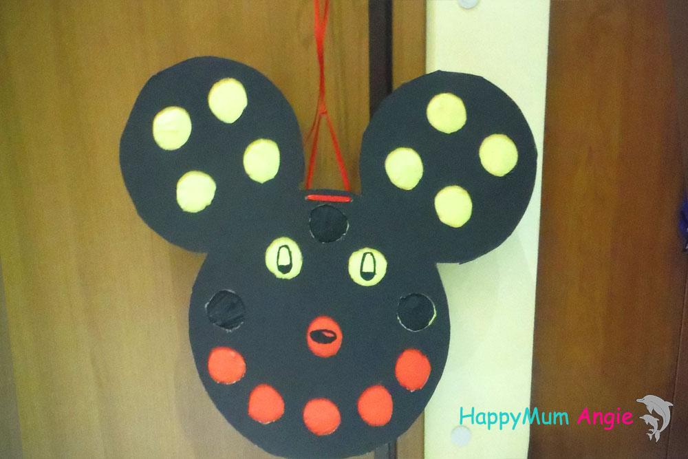 Φτιαξτε Πινιάτα punch box - Mickey Mouse