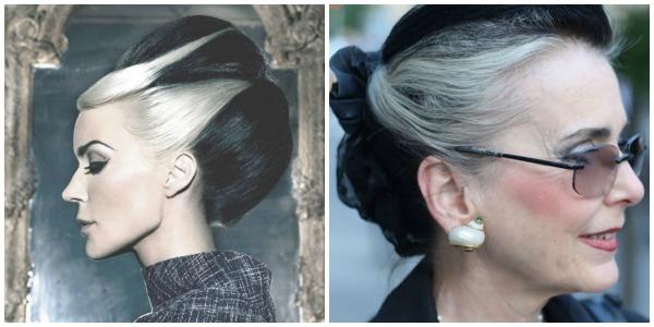 Ασπρόμαυρα μαλλιά!Ένα ιδιαίτερο στυλ των δύο άκρων στο μαλλί σας! 3