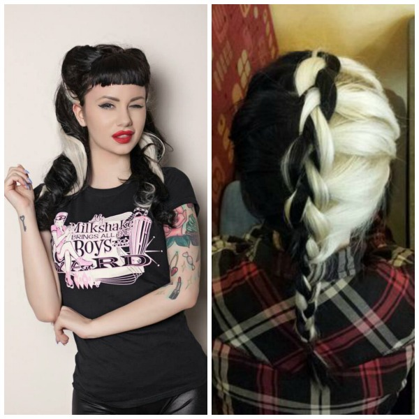 Ασπρόμαυρα μαλλιά!Ένα ιδιαίτερο στυλ των δύο άκρων στο μαλλί σας! 4