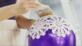 Με ένα σεμεδάκι και ένα μπαλόνι φτιάξτε το ποιο όμορφο φωτιστικό!