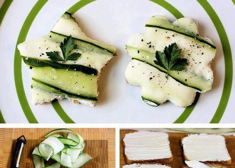 Φτιαξτε υπέροχα αστεράκια toast