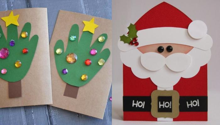 25 υπέροχες ιδέες για χριστουγεννιάτικες κάρτες Part 2
