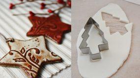 Ζύμη με κορν φλαουρ  για τα ποιο όμορφα Χριστουγεννιάτικα στολίδια που φτιαξάτε ποτέ!