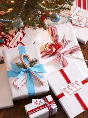 Ιδέες για να τυλίξετε τα Χριστουγεννιάτικα δώρα!