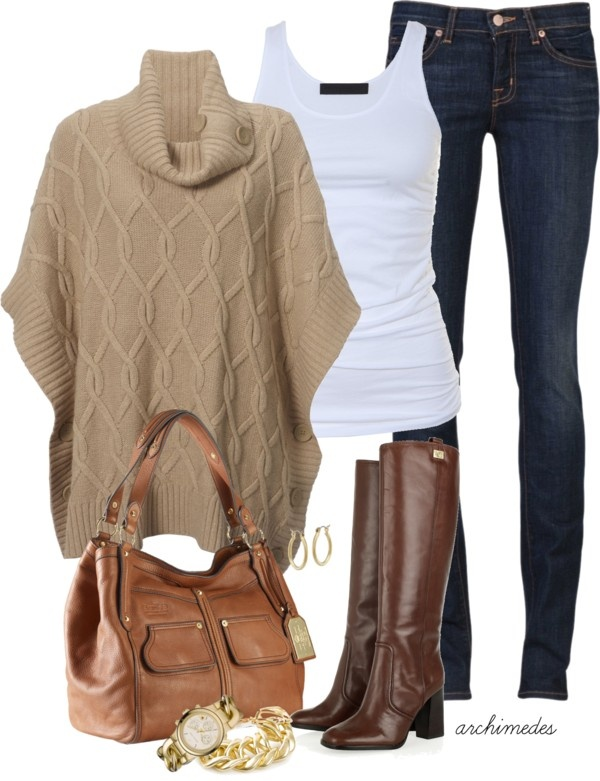 Coffee-Outfit-Idea-with-Jeans-for-2015