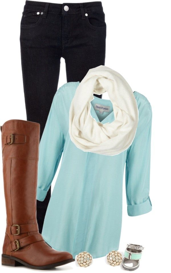 Simple-Outfit-Idea-for-Winter-2015
