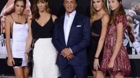 Ο Sylvester Stalone μας παρουσιάζει την πανέμορφη οικογένεια του