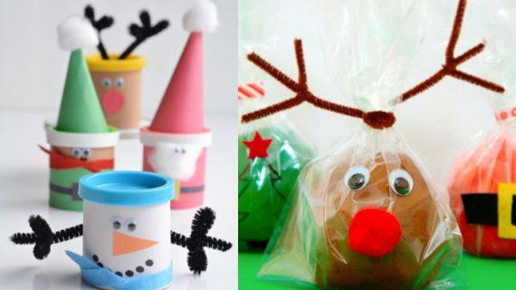 Χριστουγεννιάτικα δώρα για παιδιά με σπιτική πλαστελίνη Playdough