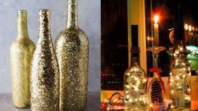 Φτιάξτε  φωτεινά χριστουγεννιάτικα μπουκάλια!(Βίντεο)