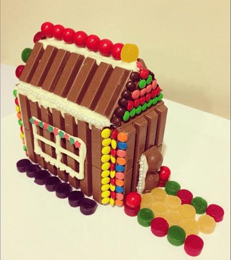 Χριστουγεννιάτικα σοκολατένια σπιτάκια από Kit kat! -Kit Kat Candy House