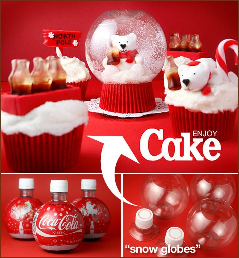 snow-globe-coca-cola-cupcakes-diy