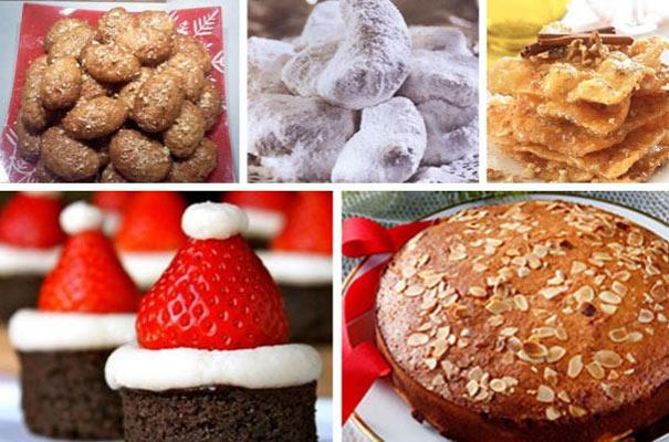 Πόσες θερμίδες έχουν μελομακάρονα,κουραμπιέδες,βασιλόπιτα  και όλα τα Χριστουγεννιατικα