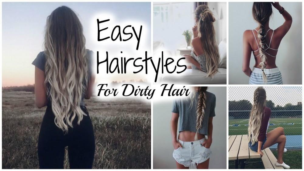15 εύκολα  χτενίσματα για  άλουστα μαλλιά
