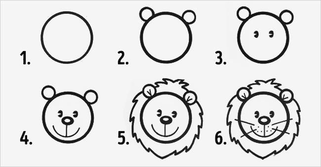 10  εύκολα σχέδια για παιδιά με την βοήθεια κύκλων. (Εικόνες)