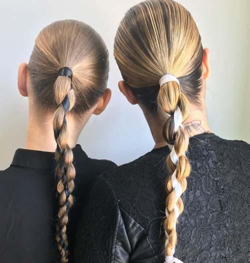 15 πανεύκολα χτενίσματα για μακριά μαλλιά DIY