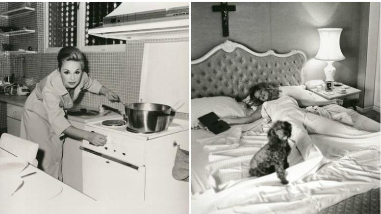 Αλίκη Βουγιουκλάκη: Δείτε προσωπικές φωτογραφίες από το σπίτι της