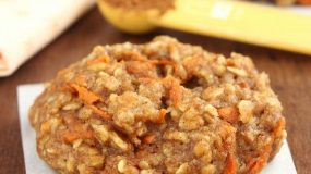 Συνταγη για παιδιά: Μπισκότα με καρότο και βρώμη