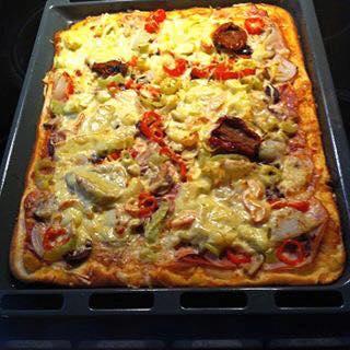H ποιο ευκόλη και νόστιμη σπιτική pizza