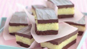 Σοκολατένιο γλύκισμα με ινδοκάρυδο και ζαχαρούχο