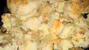 Κοτόπουλο με κουνουπίδι στη γάστρα απο τη Sofia Kara