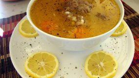 Συνταγή για παιδια:Κρεατόσουπα με κους κους