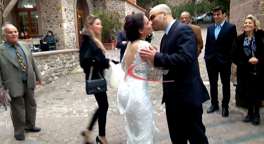 Την ημέρα της γιορτής των ερωτευμένων του Αγίου Βαλεντίνου, διάλεξε η Ειρήνη Μερκούρη για να παντρευτεί τον εκλεκτό της καρδιάς της Γιάννη Κουτσόπουλο, ο οποίος είναι γιατρός.