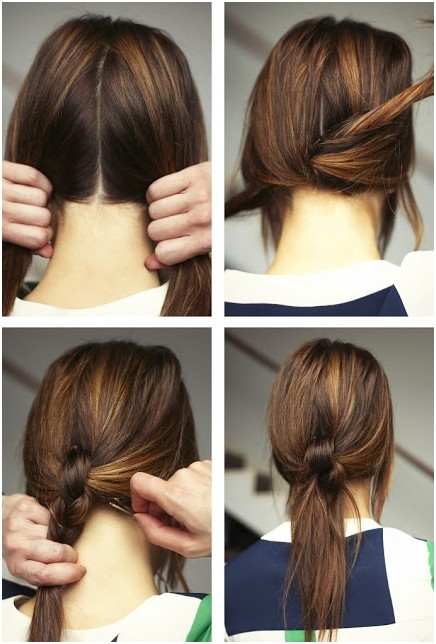 Cute-And-Easy-Ponytails-Hairstyles-for-Women-and-Girls