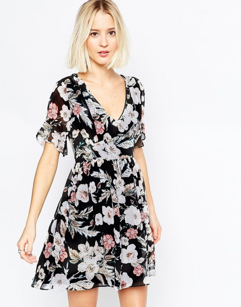 daisy-street-black-wrap-front-dress-in-floral-print-with-flutter-sleeves-product-1-874544699-normal