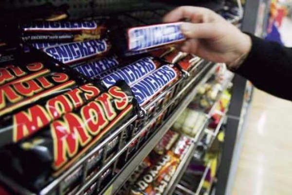 Η Mars ανακαλεί από την αγορά μαζικά, προϊόντα της