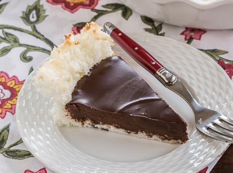 Ταρτά με ινδοκαρυδο σοκολάτα και ακόμη δυο υλικά