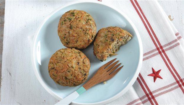 Νηστίσιμα μπιφτέκια λαχανικών