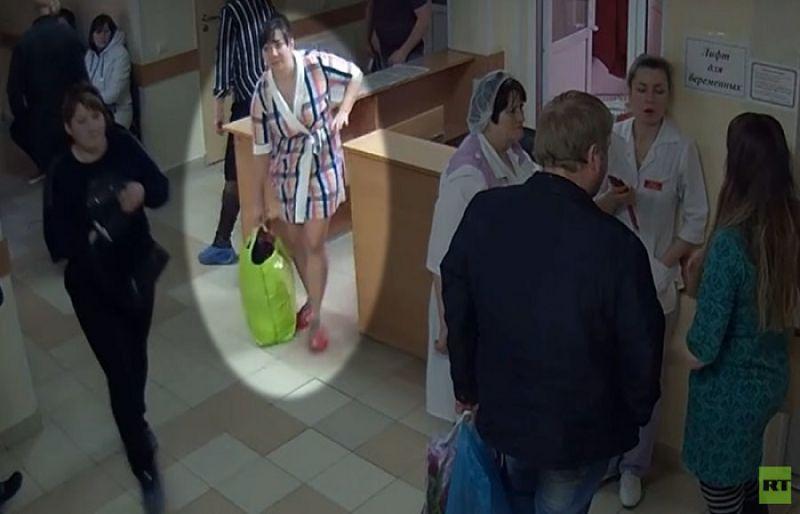 Σοκ στην Ρωσία.Γυναίκα κλέβει βρέφος μέσα από το μαιευτήριο.